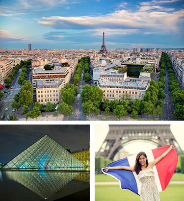 London-Paris escorted tours